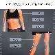 MYTREX Angel EMS エクササイズ マシーン 腹筋ベルト お腹 お腹周り 腹筋 パッド シックス パック 骨盤 二の腕 太もも 足 脚 ヒップ インナーマッスル コンパクト 健康器具 振動マシーン ブルブル 振動 マシン ジェルシート グッズ 充電式