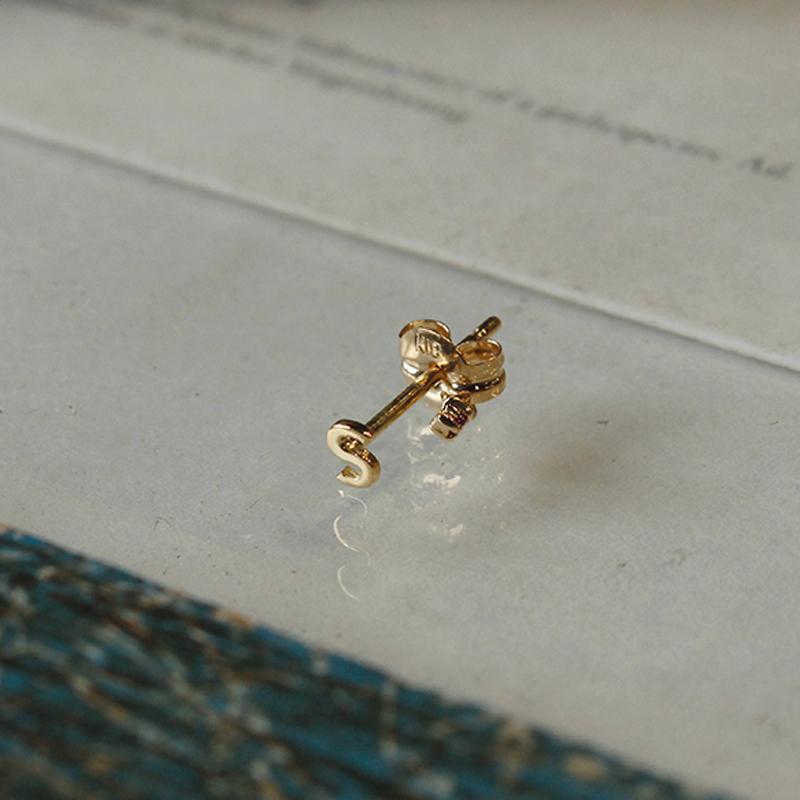 【Alphabet jewelry】 LE-NP08