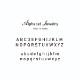 【Alphabet jewelry】 LE-NPAR02