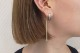 macaroni earring/pierce