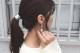 water surface pearl earring/pierce