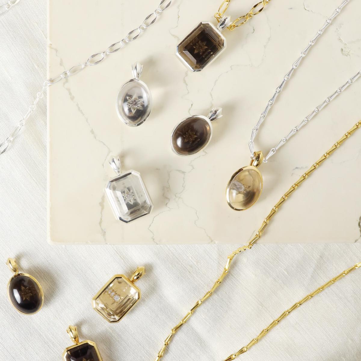 design long chain necklace