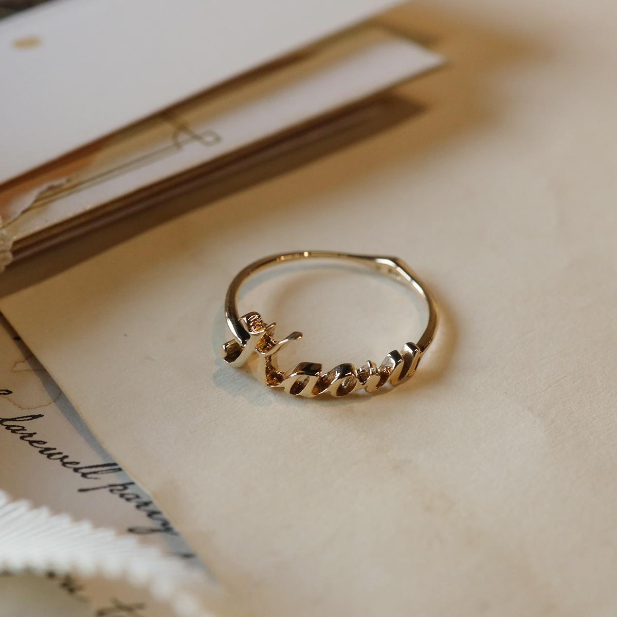 【Alphabet jewelry】 LE-NR04