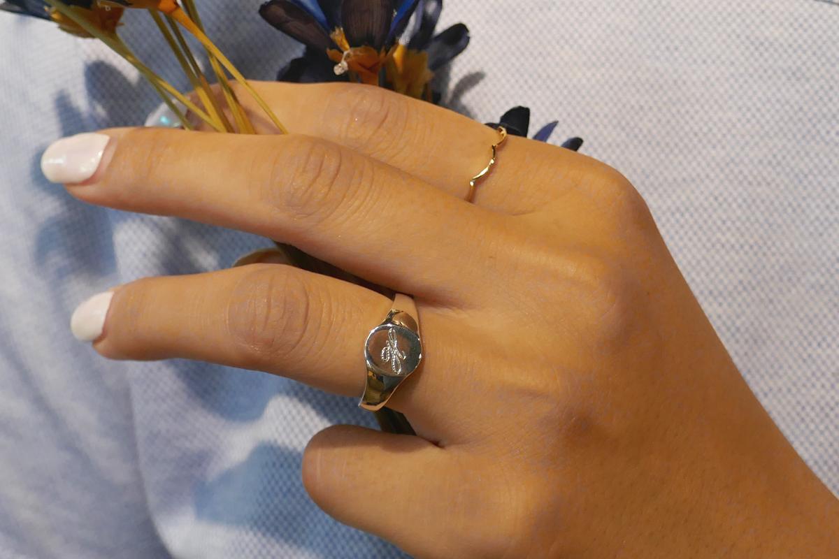 【WEB限定】 Oval Signet Ring