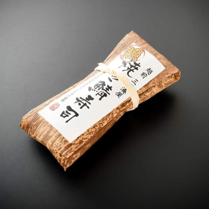 越前三國湊屋の照焼き鯖寿司