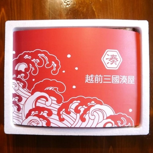 越前三國湊屋の〆鯖寿司