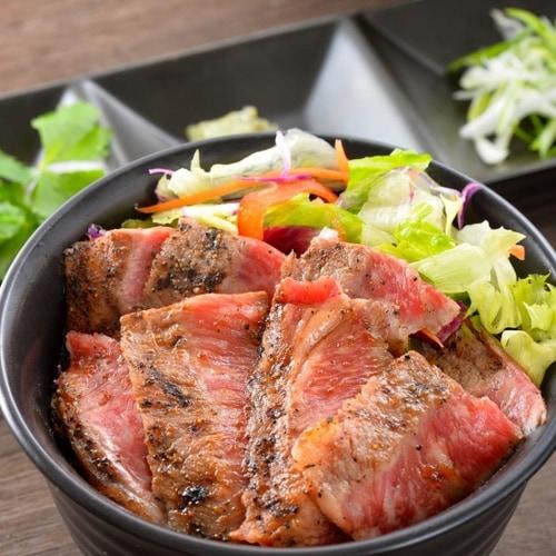 三ツ星若狭牛ステーキ丼&黒龍吟醸豚丼2個セット