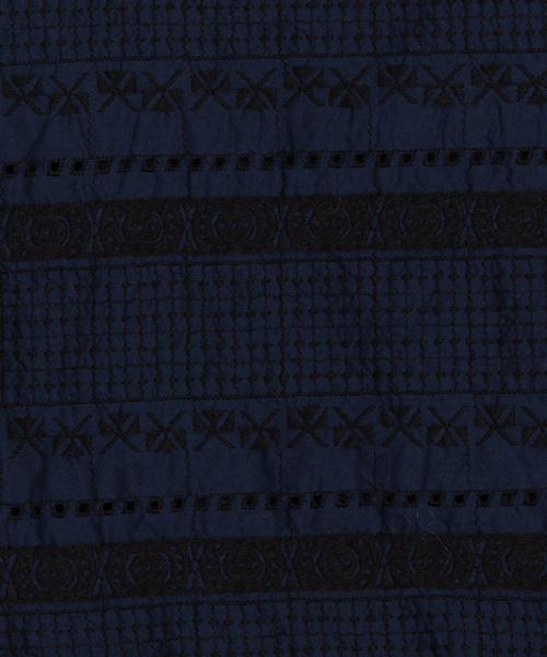 50%OFF リバー刺繍ドルマンブラウス