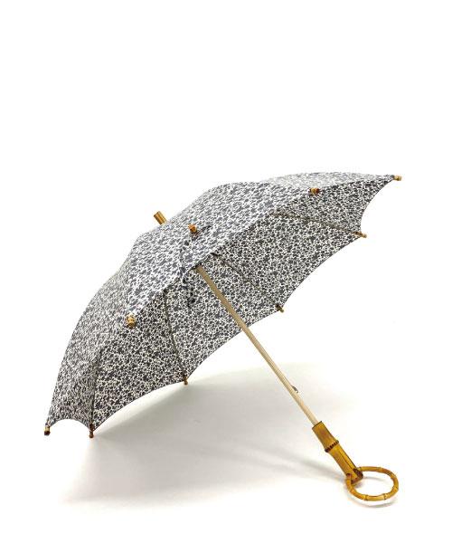 ロンドバンブー長傘(フラワー)