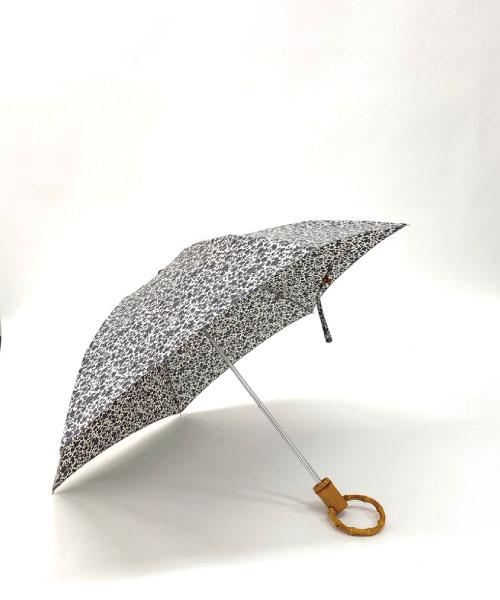 ロンドバンブー折りたたみ傘(フラワー)