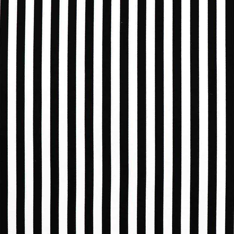 縞模様 幅110cm 長さ10cm オックス生地 / ストライプ 布 綿100% 白 ホワイト 黒 ブラック 縦じま モノクロ 手作り ハンドメイド材料 資材 【ゆうパケット対応】