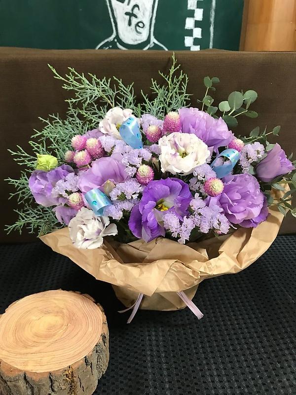 紫アレンジメント