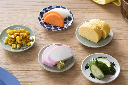 大堀相馬焼 松永窯 豆皿 5枚セット