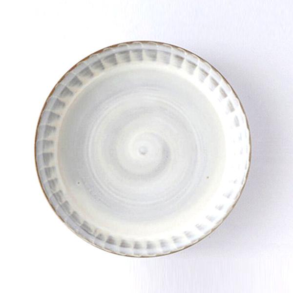 小石原焼 圭秀窯 浅鉢(白釉)