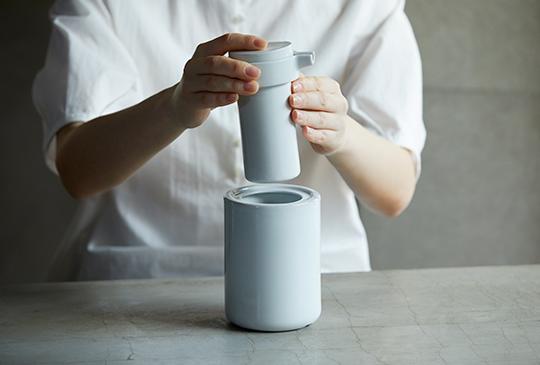 IKKON 酒燗器(白釉)