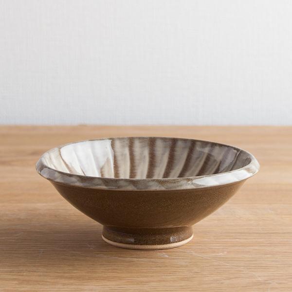 小石原焼 マルダイ窯 5寸刷毛目鉢 フラシ
