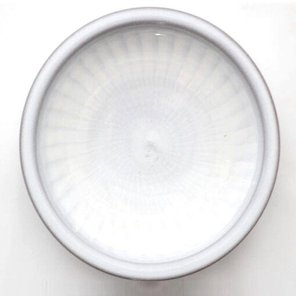 小石原焼 圭秀窯 刷毛目皿(白釉)