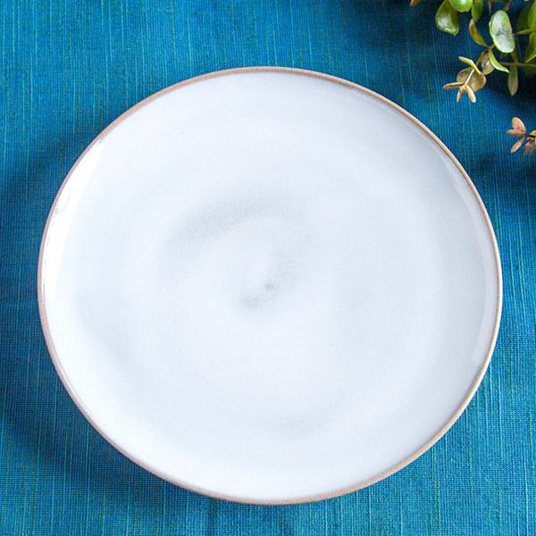 小石原焼 圭秀窯 シンプルプレート(白釉)