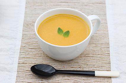 恵みの庭のかぼちゃスープ