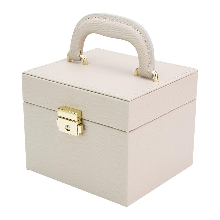 キューブ型ジュエリーボックス
