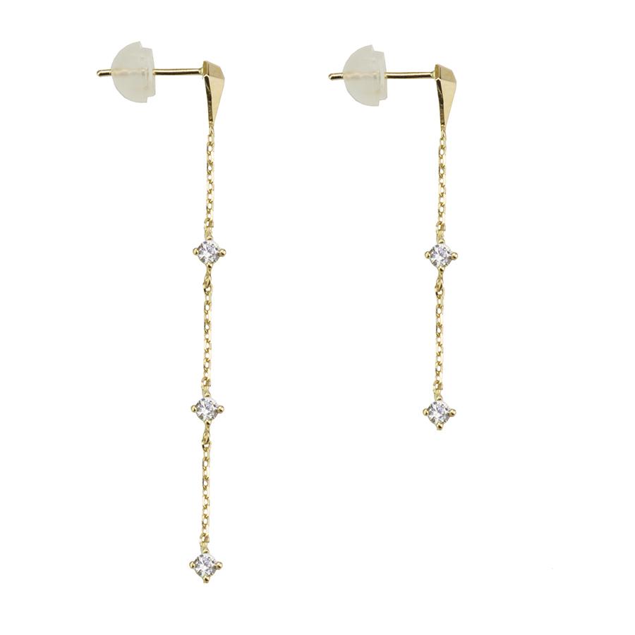 Diamond chain pierced