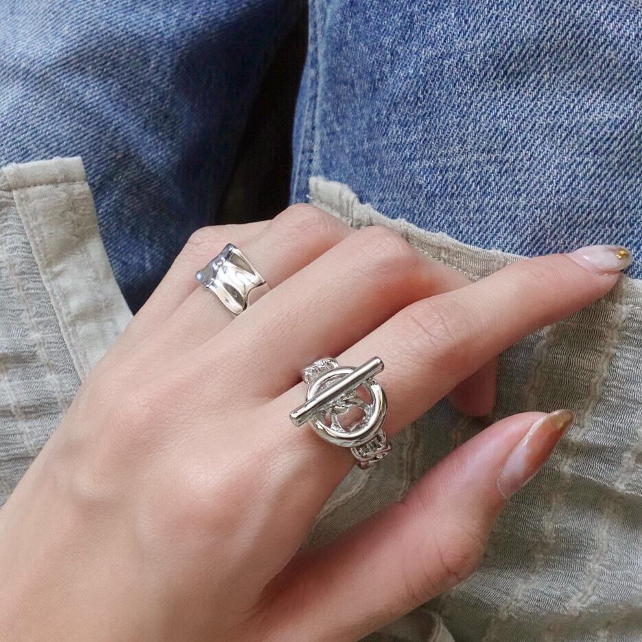 サークルロッキンチェーンリング(Silver)
