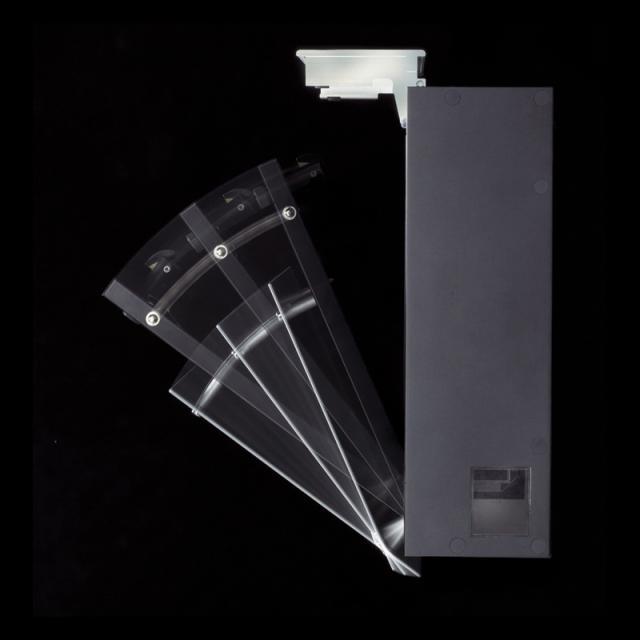 丸三タカギ エントランスにモダンスタイルを演出 フェイサスラウンド シルバー色 PRF-3-N