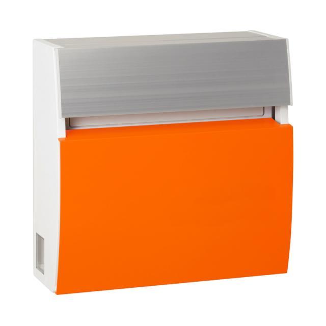 丸三タカギ エントランスにモダンスタイルを演出 フェイサスラウンド オレンジ色 PRF-4-N