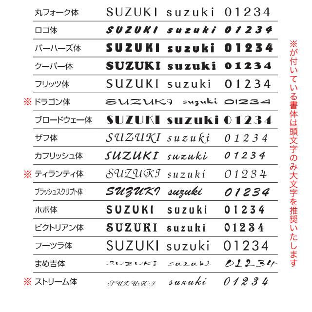 選べる書体 オーダー表札 丸三タカギ メテオール MTA-1-1 幅145mm×高さ58mm