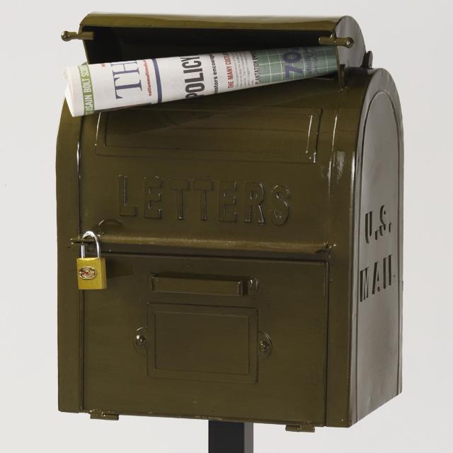 セトクラフト American Vintage U.S.MAIL BOX グリーン SI-2855-GR-3000