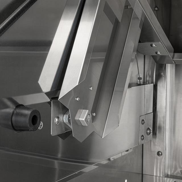 感染対策 非接触開閉仕様 ダイケン ゴミ収集庫 クリーンストッカー CKS-H型 CKS-1907H 幅1950mm×奥行き750mm×高さ1160mm ※お客様組立品