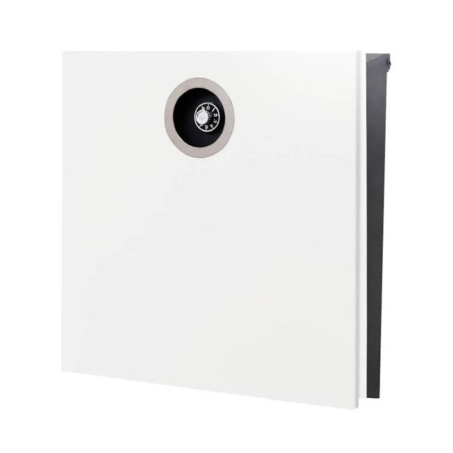 オンリーワン 郵便ポスト イル ヴァリオ ピアーノプレミオ NA1-IV16WH 壁掛タイプ ホワイト色 ダイヤル錠付き