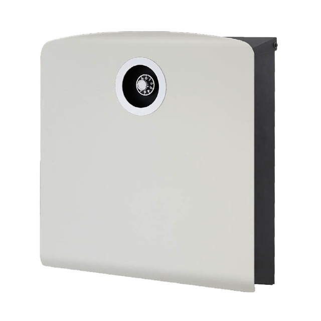 オンリーワン 郵便ポスト イル ヴァリオ Korat コラット NA1-IV20LG 壁掛タイプ ライトグレー色 ダイヤル錠付き