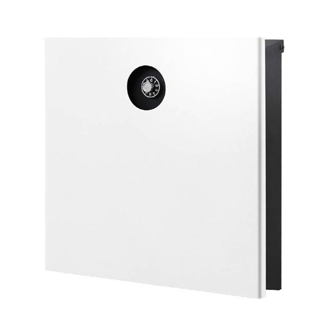 オンリーワン 郵便ポスト イル ヴァリオ Piano ピアーノ NA1-IV15WH 壁掛タイプ ホワイト色 ダイヤル錠付き