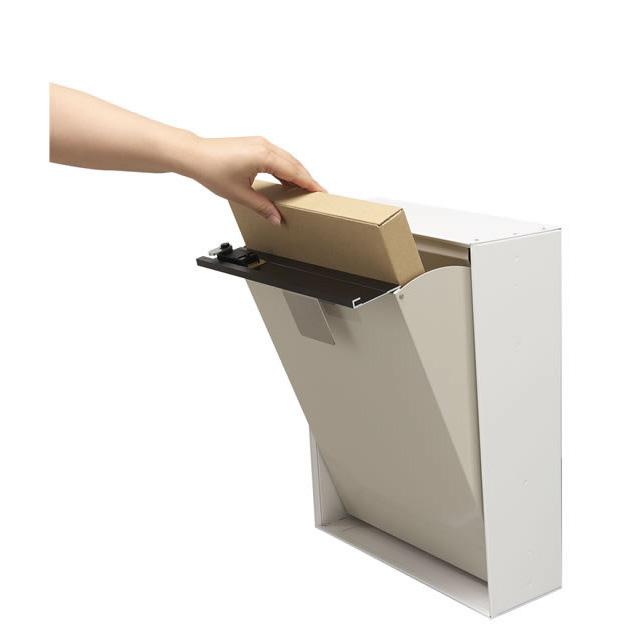 コーワソニア 郵便ポスト SWING スウィング タモ色 上入れ上出し 可変式ロック付き