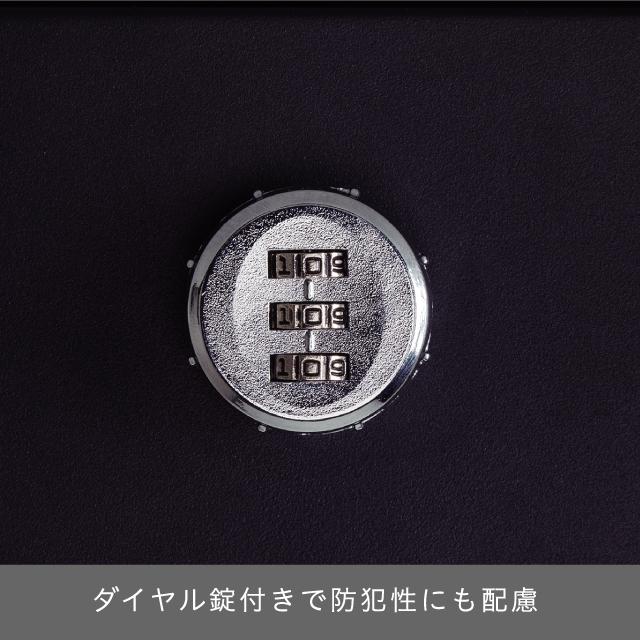 丸三タカギ スタイリッシュなフォルムのオシャレポスト STAPPO(スタッポ) サテンブラック(ウッドブラウン) STP-B-2