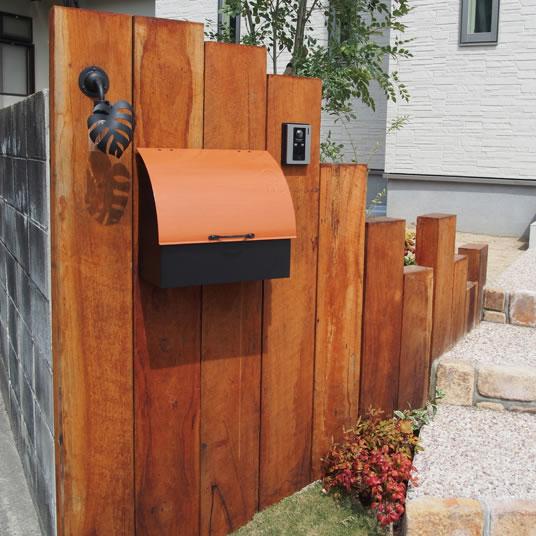 オンリーワン 郵便ポスト Nature ナチュレ NL1-P40 鍵無し