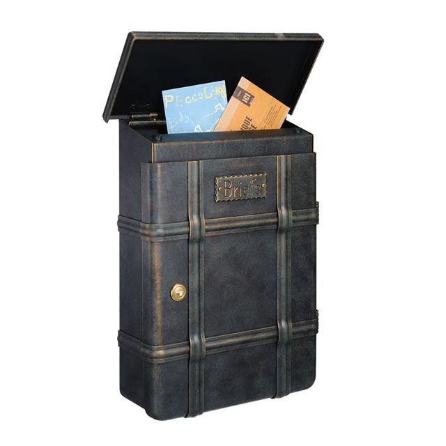 郵便ポスト オンリーワン ハイビポスト ノストA MA1-64391010D ダイヤル錠 パティナグリーン