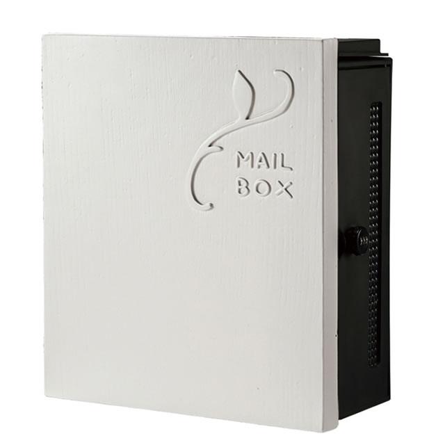 オンリーワン 郵便ポスト クーリエ リーフ MY1-1846 アイボリー色 右扉仕様