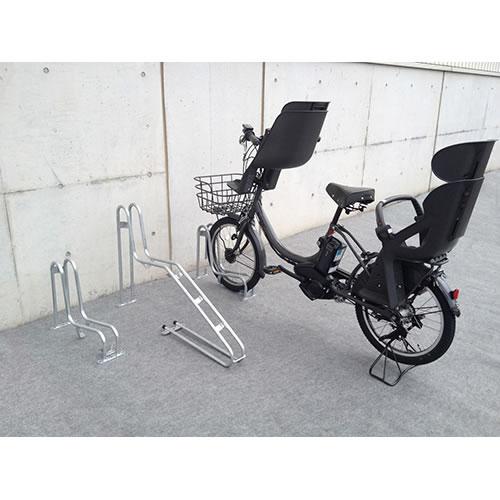 ダイケン 自転車ラック サイクルスタンド 独立式スタンド 1台用 スタンド低タイプ CS-G1A-S スチール製