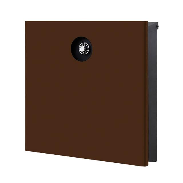 オンリーワン 郵便ポスト イル ヴァリオ Piano ピアーノ NA1-IV15FB 壁掛タイプ フォレストブラウン色 ダイヤル錠付き