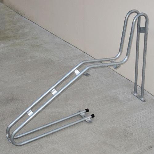 ダイケン 自転車ラック サイクルスタンド 独立式スタンド 1台用 スタンド高タイプ CS-G1B-S スチール製