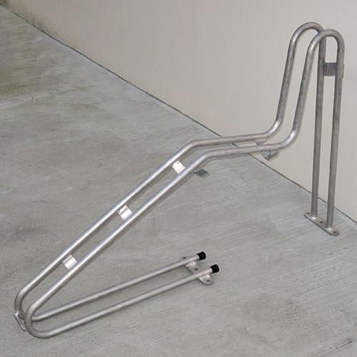 ダイケン 自転車ラック サイクルスタンド 独立式スタンド 1台用 スタンド高タイプ CS-GU1B-S ステンレス製