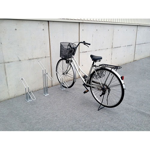 ダイケン 自転車ラック サイクルスタンド 独立式スタンド 1台用 スタンド低タイプ CS-H1A-S スチール製