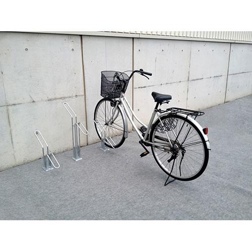 ダイケン 自転車ラック サイクルスタンド 独立式スタンド 1台用 スタンド高タイプ CS-H1B-S スチール製