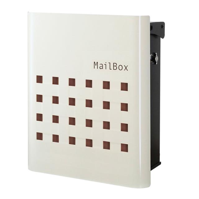 オンリーワン 郵便ポスト FUN Type01 ビッソ NA1-FT01BR ブラウン色
