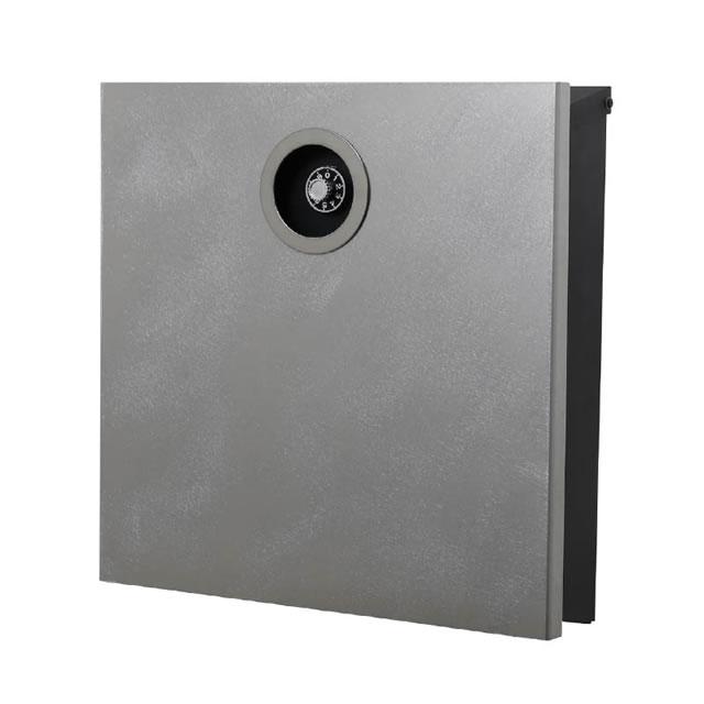 オンリーワン 郵便ポスト イル ヴァリオ ピアーノプレミオ NA1-IV16DA 壁掛タイプ ダメージ色 ダイヤル錠付き