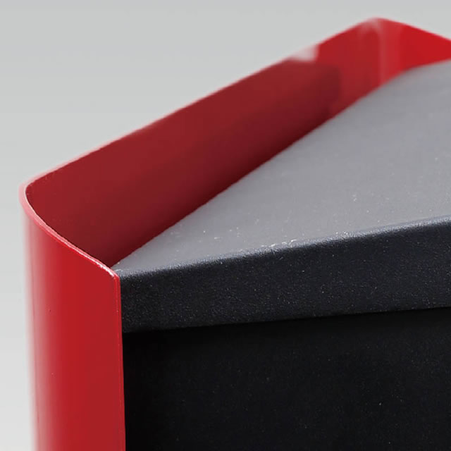 オンリーワン 郵便ポスト イル ヴァリオ マリエッタ NA1-IV01SI 壁掛タイプ シルバー色 ダイヤル錠付き