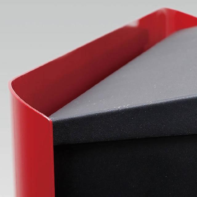 オンリーワン 郵便ポスト イル ヴァリオ マリエッタ エス NA1-IV02HL 壁掛タイプ ヘアライン色 ダイヤル錠付き