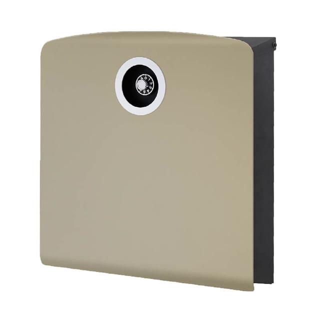 オンリーワン 郵便ポスト イル ヴァリオ Korat コラット NA1-IV20LA 壁掛タイプ ラテ色 ダイヤル錠付き